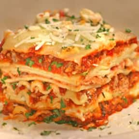 Lasagna is listed (or ranked) 15 on the list The Most Comforting Comfort Food