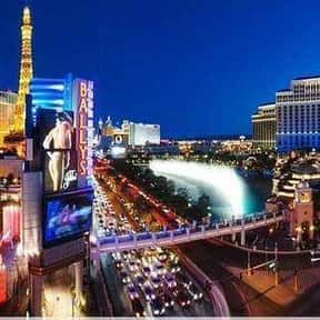 Las Vegas is listed (or ranked) 10 on the list The Best U.S. Cities for Vacations