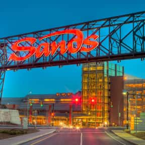 Las Vegas Sands is listed (or ranked) 8 on the list Companies Headquartered in Nevada