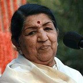 Lata Mangeshkar is listed (or ranked) 7 on the list The Greatest Singers of Indian Cinema