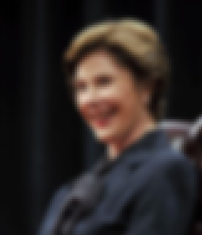 Laura Bush is listed (or ranked) 3 on the list 34 Celebrities Who Were in Kappa Alpha Theta