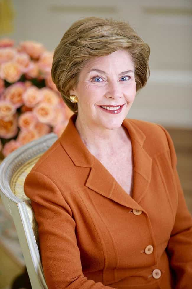 Laura Bush is listed (or ranked) 3 on the list 49 Celebrities Who Have Killed People