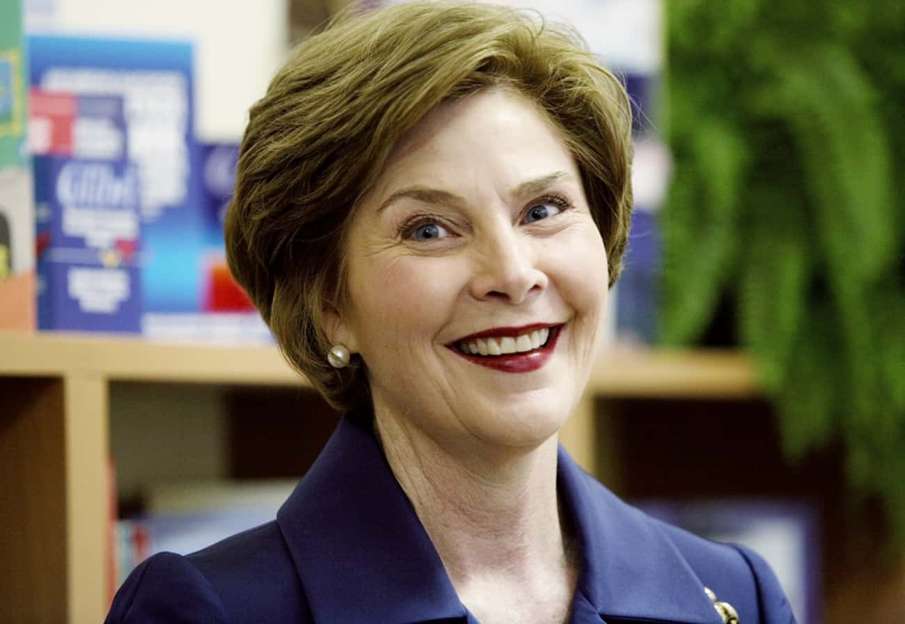 Laura Bush is listed (or ranked) 1 on the list Famous Female Teachers