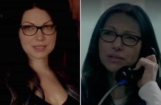 Laura Prepon is listed (or ranked) 2 on the list How the Cast of Orange Is the New Black Aged From The First To The Last Season