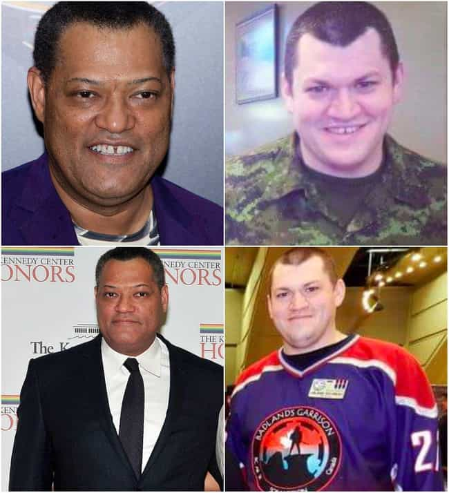 Laurence Fishburne is listed (or ranked) 4 on the list 30 Celebrities and Their Lookalikes of Other Races And/Or Ethnicities