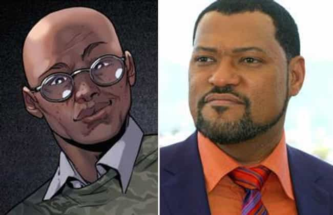 Laurence Fishburne is listed (or ranked) 8 on the list Who Should Be in a Miles Morales Spider-Man Film?