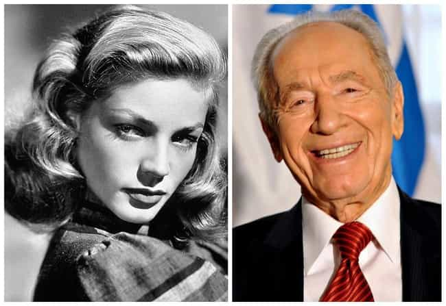 Lauren Bacall is listed (or ranked) 4 on the list 19 Sets of Famous Cousins
