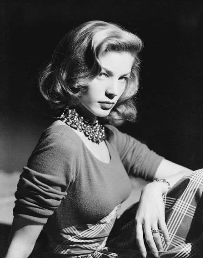 Lauren Bacall is listed (or ranked) 4 on the list The Hottest Pin-Up Girls from the 1940s