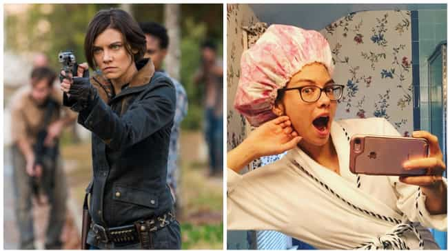 Lauren Cohan is listed (or ranked) 2 on the list What The Walking Dead Cast Looks Like In A World Without The Zombie Apocalypse