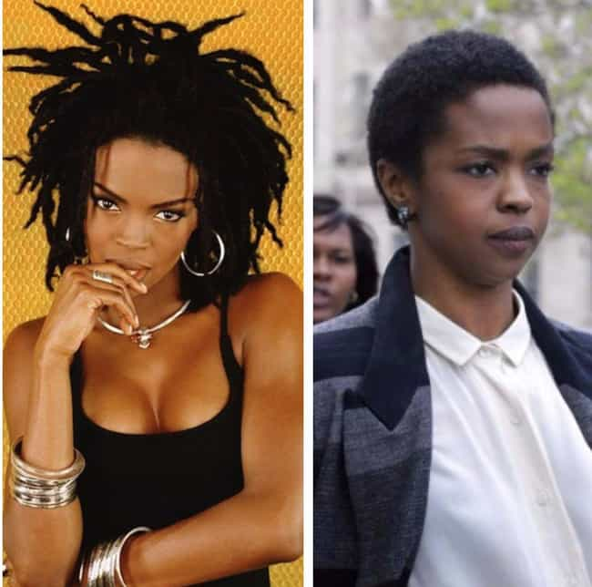 Lauryn Hill is listed (or ranked) 4 on the list 16 Women Rappers Without Makeup On
