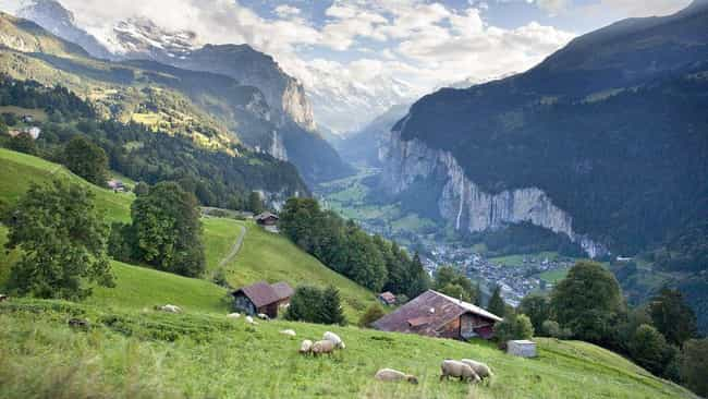 Lauterbrunnen is listed (or ranked) 3 on the list The Most Beautiful Places in Europe