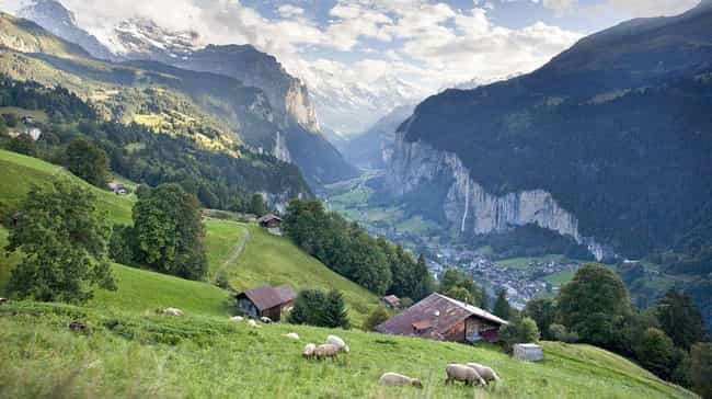 Lauterbrunnen is listed (or ranked) 4 on the list The Most Beautiful Places in Europe
