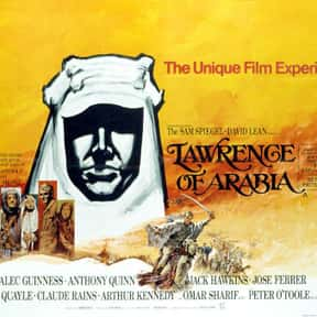 Lawrence of Arabia is listed (or ranked) 6 on the list The Best Oscar-Nominated Movies of the 1960s