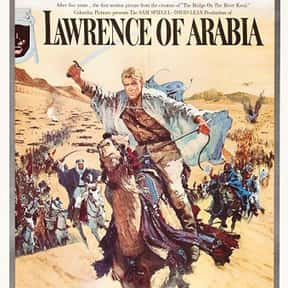 Lawrence of Arabia is listed (or ranked) 14 on the list The Most Inspirational Movies Ever