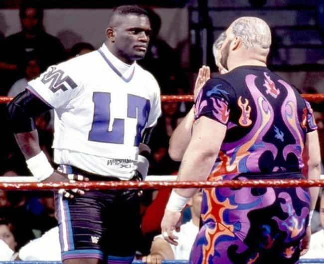 Lawrence Taylor is listed (or ranked) 4 on the list 26 Athletes Who Became Wrestlers