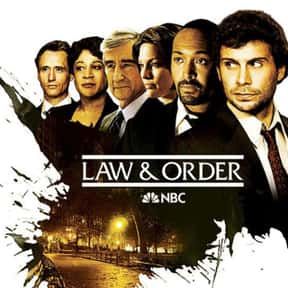 Law & Order is listed (or ranked) 10 on the list The Best TV Shows Set In New York City