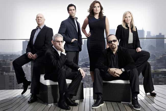Law & Order: Special Victims U... is listed (or ranked) 4 on the list The Most Attractive NBC Primetime Series Casts