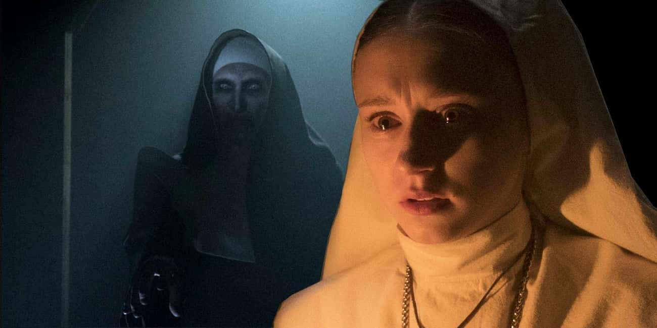 The Nun is listed (or ranked) 2 on the list Terrible Horror Movies With Great Villains