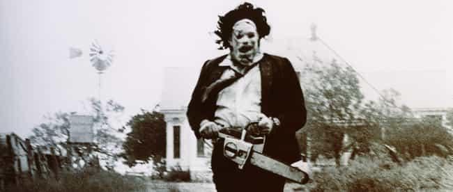 Leatherface is listed (or ranked) 2 on the list 17 Creepy Fictional Cannibals You'll Be Super Happy Aren't Real