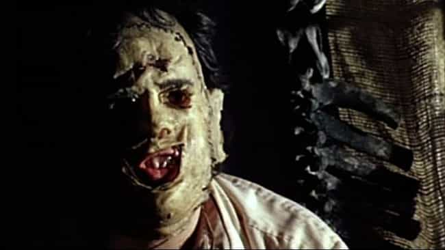 Leatherface is listed (or ranked) 3 on the list The Dumbest Horror Villain Origin Stories