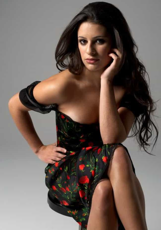 Lea Michele is listed (or ranked) 4 on the list The Hottest Girls on Glee