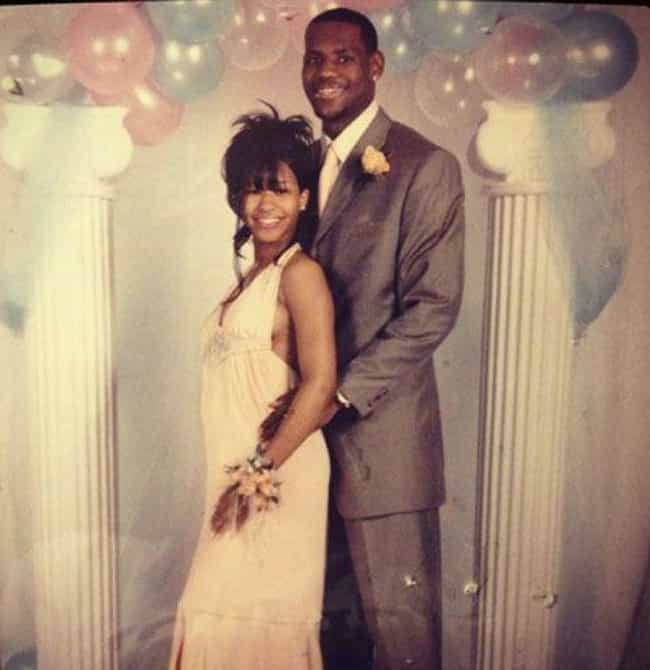 LeBron James is listed (or ranked) 1 on the list Athlete Prom Photos That Prove We All Had an Awkward Phase