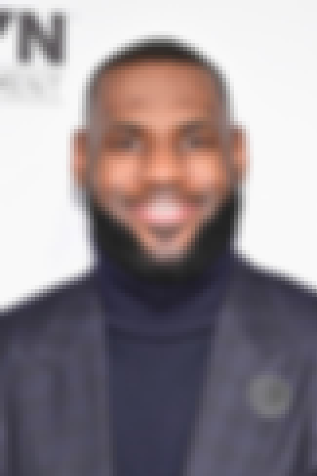 LeBron James is listed (or ranked) 3 on the list Famous Male Athletes