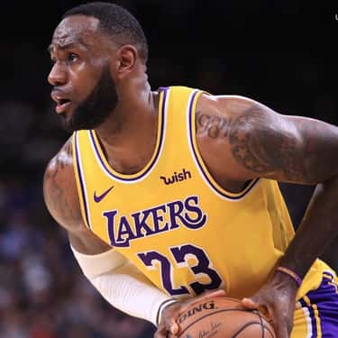 LeBron James is listed (or ranked) 2 on the list Famous Male Basketball Players