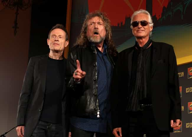 Led Zeppelin is listed (or ranked) 1 on the list The Best Rock Bands of All Time