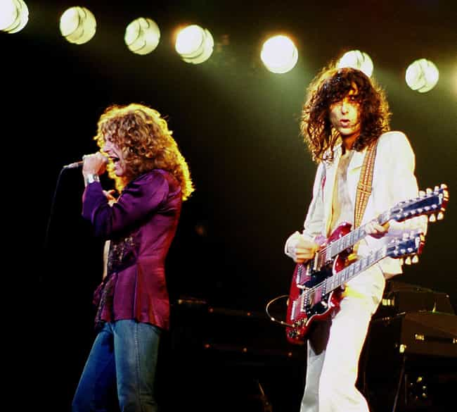 Led Zeppelin is listed (or ranked) 4 on the list 13 Famous Historical Figures Who Allegedly Sold Their Souls To The Devil
