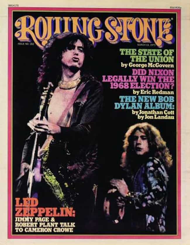Led Zeppelin is listed (or ranked) 4 on the list The Best Rolling Stone Covers