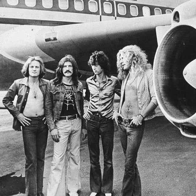 Led Zeppelin is listed (or ranked) 1 on the list The Best Band Name Origins Stories