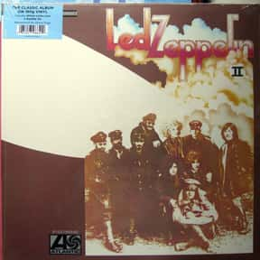 """Led Zeppelin II"" - Led Zeppel is listed (or ranked) 4 on the list The 50 Greatest Albums Released Between 1960 - 1969"
