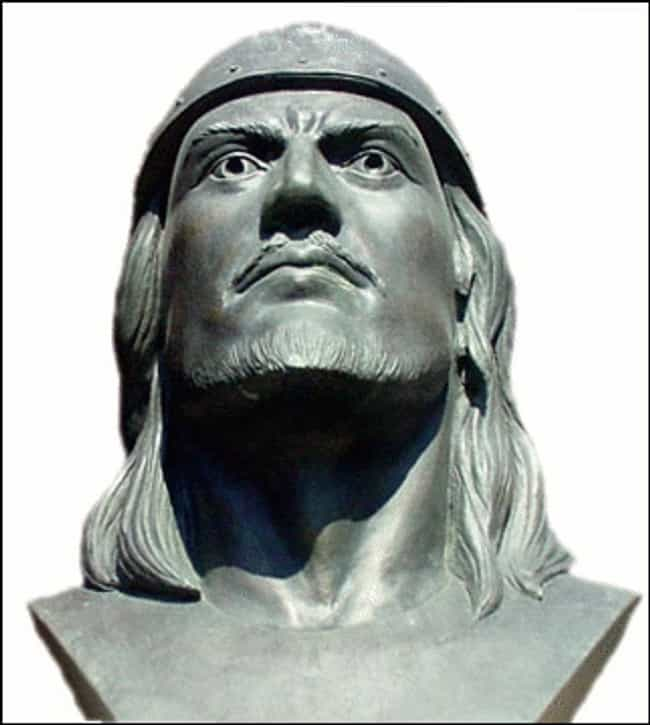Leif Erikson is listed (or ranked) 4 on the list List of Famous Conquistadors