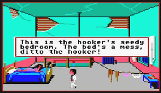 Leisure Suit Larry in the Land... is listed (or ranked) 2 on the list Dirty Old School Video Games