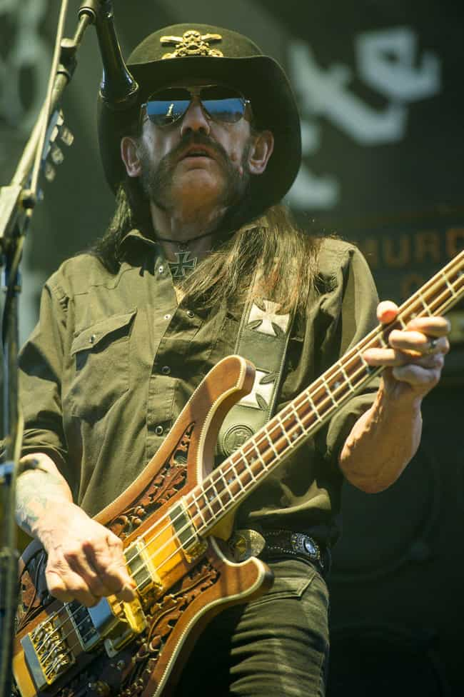 Lemmy Kilmister is listed (or ranked) 1 on the list Rockers Who Were Fired From Hard-Partying Bands For Partying Too Damn Hard