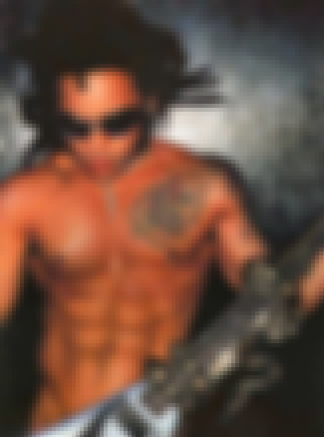 Lenny Kravitz is listed (or ranked) 4 on the list 19 Celebrities Who Have Nipple Piercings