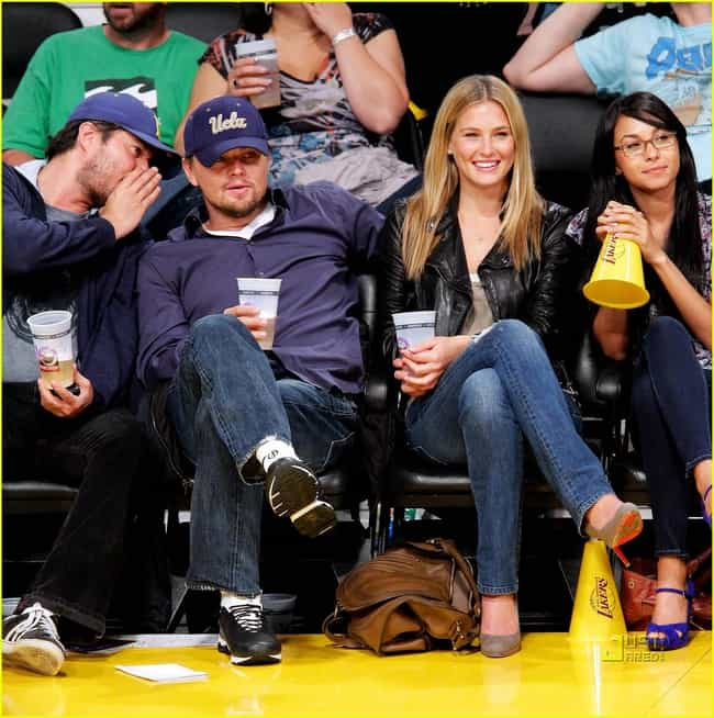 Leonardo DiCaprio is listed (or ranked) 1 on the list Celebrity Lakers Fans