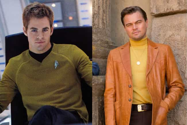 Leonardo DiCaprio is listed (or ranked) 4 on the list Who Would Quentin Tarantino Cast In A Rebooted 'Star Trek'?