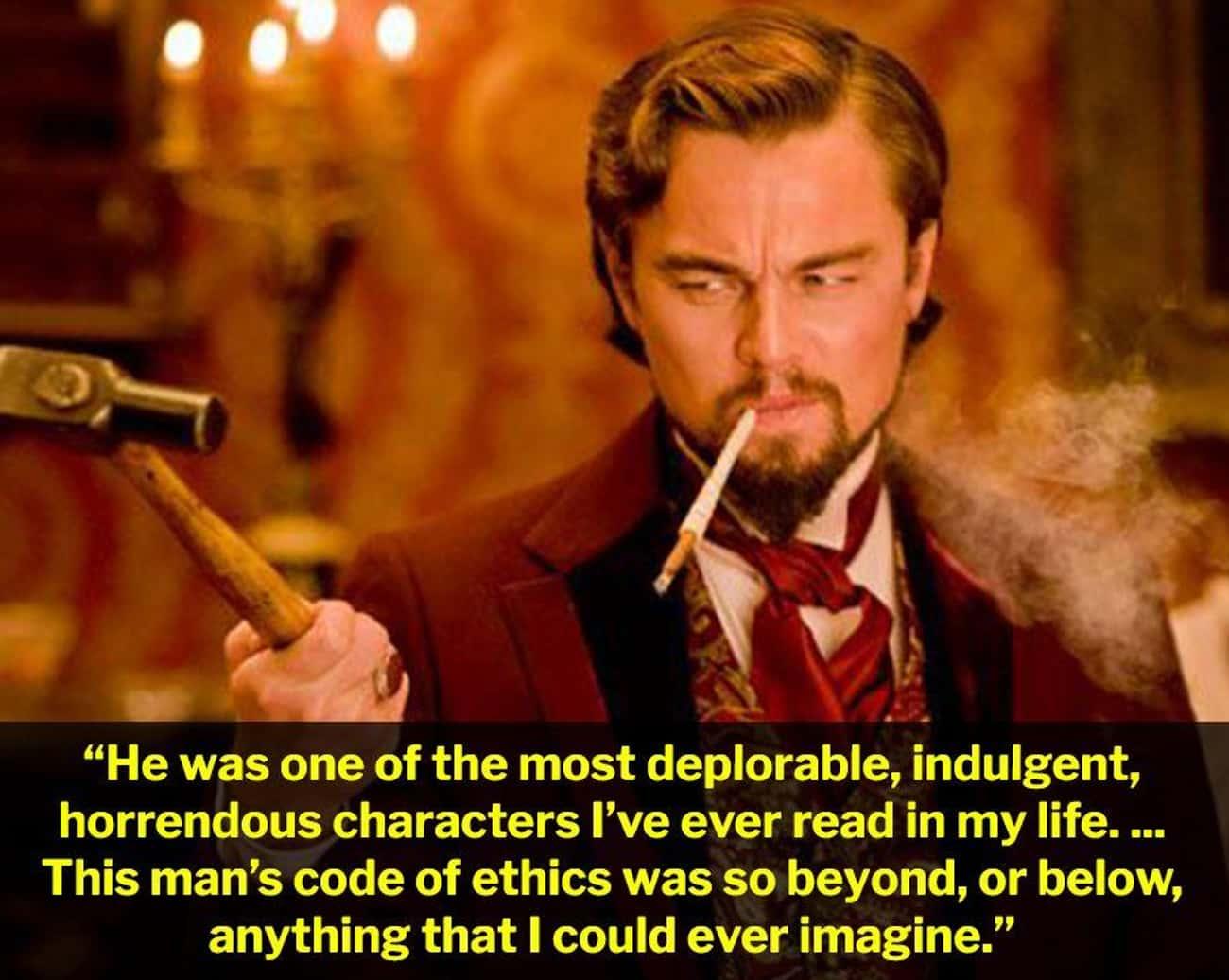 Leonardo DiCaprio In 'Django Unchained'