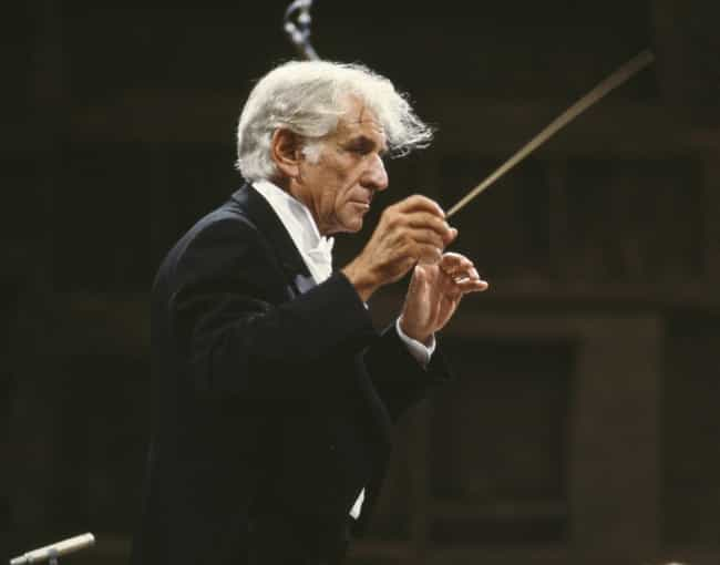 Leonard Bernstein is listed (or ranked) 6 on the list Famous Male Conductors