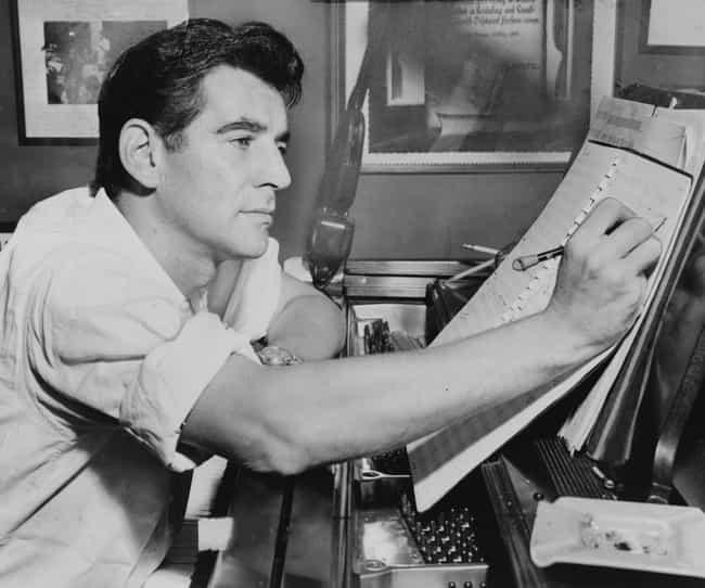 Leonard Bernstein is listed (or ranked) 3 on the list 16 Celebrities Who Were In Zeta Beta Tau