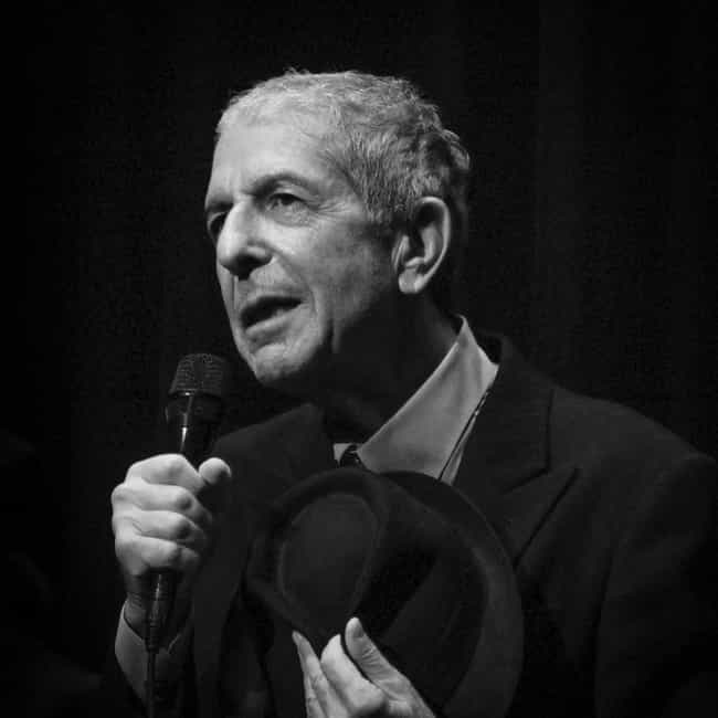Leonard Cohen is listed (or ranked) 14 on the list Musicians Who Died in 2016
