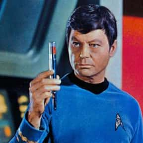 Leonard McCoy is listed (or ranked) 4 on the list The Greatest Scientist TV Characters