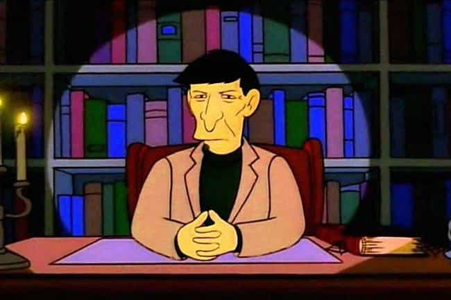 Leonard Nimoy is listed (or ranked) 3 on the list The Greatest Guest Appearances in The Simpsons History