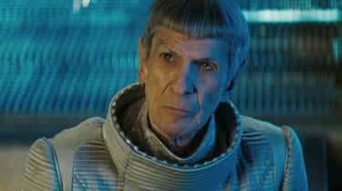 Leonard Nimoy In 'Star Trek' (2009)