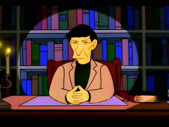 Leonard Nimoy is listed (or ranked) 1 on the list The Greatest Guest Appearances in The Simpsons History