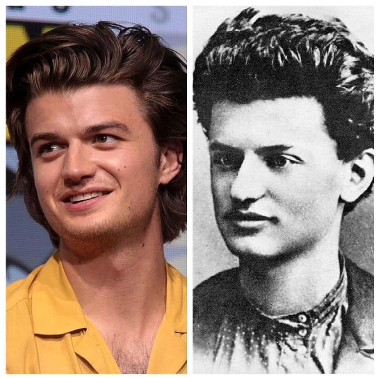 Joe Keery As Leon Trotsky is listed (or ranked) 1 on the list Historical Figures And The Actors Who Should Portray Them In A Biopic