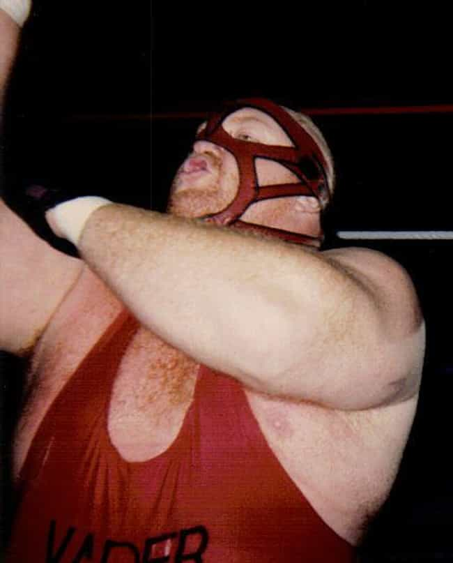 Big Van Vader is listed (or ranked) 3 on the list The Real Names of 53 Wrestlers