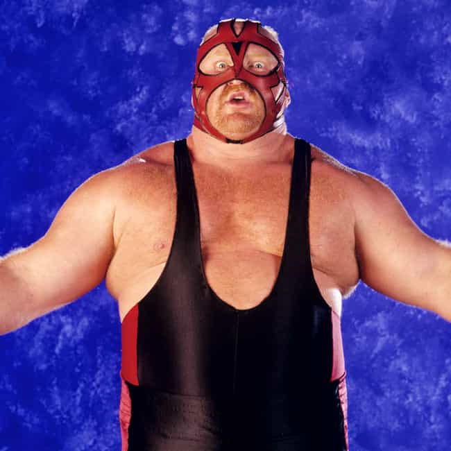 Big Van Vader is listed (or ranked) 4 on the list The Best Masked Wrestlers in WWE History